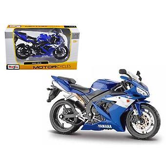2004 Yamaha YZF-R1 Blue Bike 1/12 Motorrad von Maisto