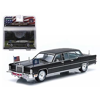 1972 Lincoln Continental Gerald Ford Presidential Limousine 1/43 Diecast Model Car par Greenlight
