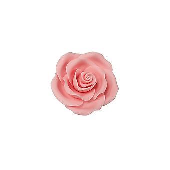 SugarSoft spiselig blomst-Rosa lys pink 38mm-æske med 20