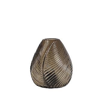 Light & Living Table Lamp LED 13.5x15cm Leaf Glass Brown