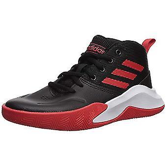 barn adidas jenter ef0309 skinn lav topp lace up basketball sko