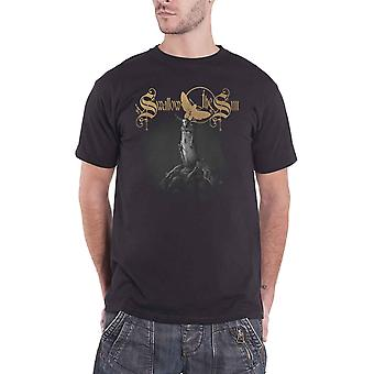 Swallow The Sun T Shirt When A Shadow Band Logo new Official Mens Black