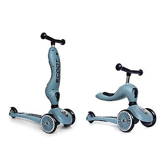 Scoot y Ride Highwaykick 1 2in1 Scooter Steel