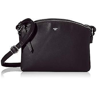 Tom Tailor Acc Roma - Black Woman Shoulder Bags (Schwarz) 25x17x7.5 cm (W x H L)