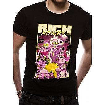 Rick And Morty -Retro Poster T-Shirt