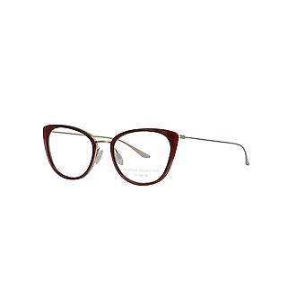 Barton Perreira Endora BP5026 1ST Oxblood-Silver Glasses
