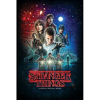 Stranger Things, Maxi Poster - Saison 1