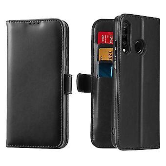 Dux Ducis Kado Huawei P30 Lite lompakko tapauksessa lompakko tapauksessa musta