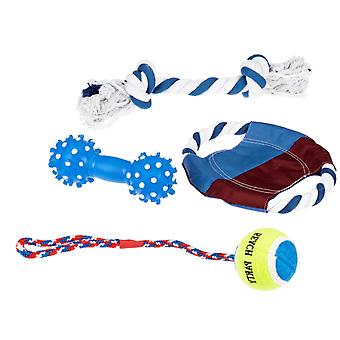 Set Of Toys For Dogs 4 Pcs  Lots Of Fun For Your Dog!