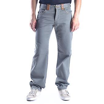 Ermanno Scervino Ezbc108012 Men's Grey Cotton Pants