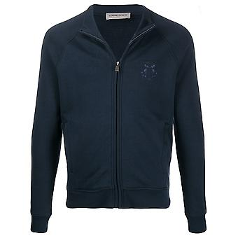 Corneliani 84g5679825002001 Men's Blue Cotton Sweatshirt