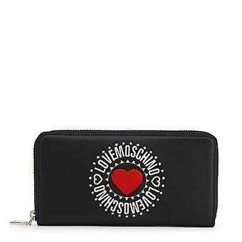 Love Moschino Original Women Spring/Summer Wallet Black Color - 71217