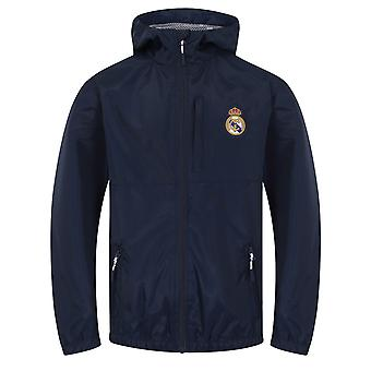 Real Madrid Official Football Gift Boys Shower Jacket Windbreaker