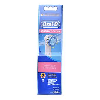 Ersatzkopf Sensitive Clean Oral-B (2 uds)