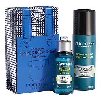Mænds Parfume Set Eau de Cedrat L'occitane (2 stk) (2 stk)