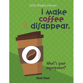 But First Coffee 2020 12 Month Diary Planner