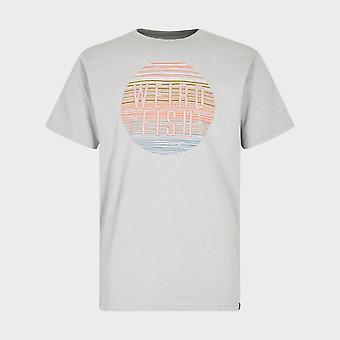 Uusi Outo Kala Men's Sunset Lyhythihainen T-paita Vihreä
