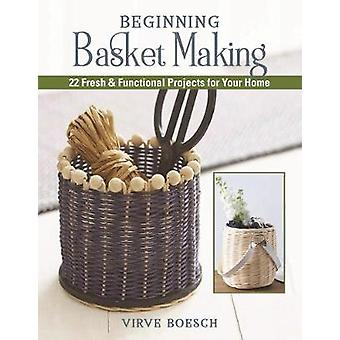 Basket-Weaving Crafts - 22 Home-Decorating Projects Using Basket-Makin