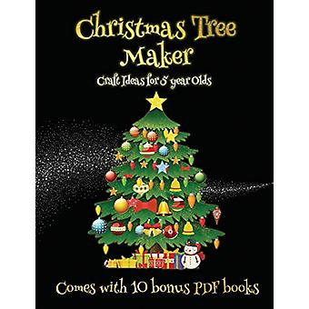 Craft Ideas for 5 year Olds (Christmas Tree Maker) - This book can be