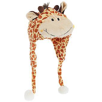 Chapéu do inverno do caçador Design Animal macio para crianças/crianças com borlas