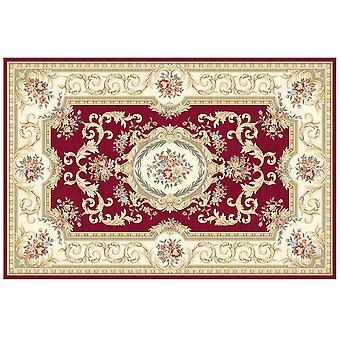 Trykt Tæppe krystal fløjl tæppe barok stil tæppe Farverige retro blomstertæppe