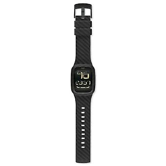Swatch Unisex silikone band quartz Digital _ SURB110