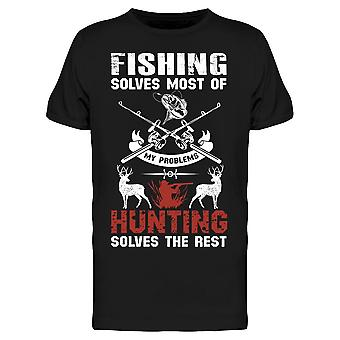 Huntin' Solves My Problems Tee Men's -Image by Shutterstock Men's T-shirt