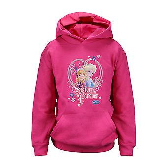 Disney Frozen 2 Sisters Forever Girls Pullover Hoodie | Official Merchandise
