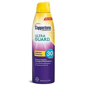 Coppertone ultra guard sunscreen, continuous spray, spf 30, 5.5 oz