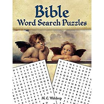 Bible Word Search Puzzles by MC Waldrep - 9780486833170 Book