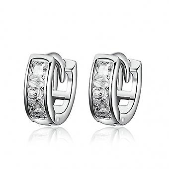 Silver Earrings Cubic Zirconia - 6536