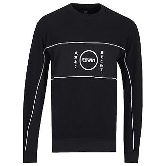 Edwin Gang Black Sweatshirt