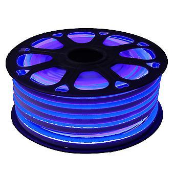 Jandei Fleksibel NEON LED Strip 25m, Blåt lys Farve 12VDC 6 * 12mm, 2,5 cm Cut, 120 LED / M SMD2835, Dekoration, Figurer, LED Plakat