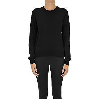Maison Margiela Ezgl038124 Women's Black Cotton Sweater