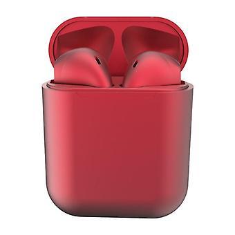 I12 Fones de ouvido sem fio-vermelho