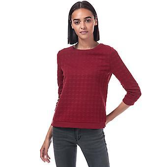 Women's Only Mynthe Joyce Crew Sweatshirt en rouge