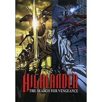 Highlander-Sök för hämnd [DVD] USA import