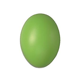 50 Lime Green Hollow One Piece 60mm Plastic Easter Eggs