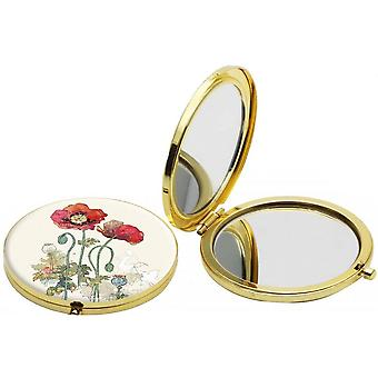 Bug art Poppy Compact lustro