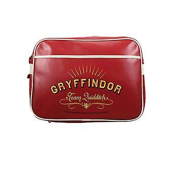 Harry Potter Messenger laukku Gryffindor Team quidditch uusi virallinen Red