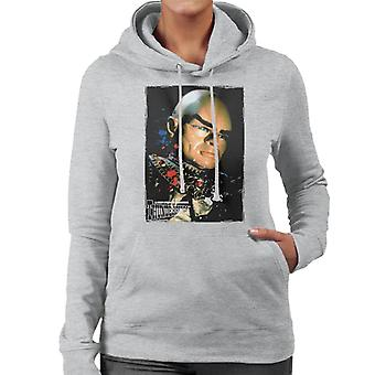 Thunderbirds Hood Portrait Frauen's Kapuzen Sweatshirt