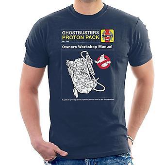 Haynes Ghostbusters Proton Pack Manual Miesten's T-paita
