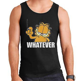 Garfield Whatever Nail Wall Scratch Men's Vest