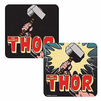 Thor Coaster Thor Hammer new Official Marvel Lenticular