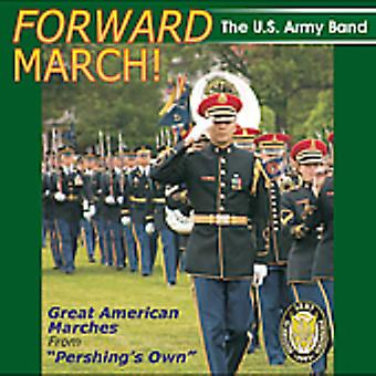 US Army Band - framåt mars!: bra amerikansk marscher [CD] USA import