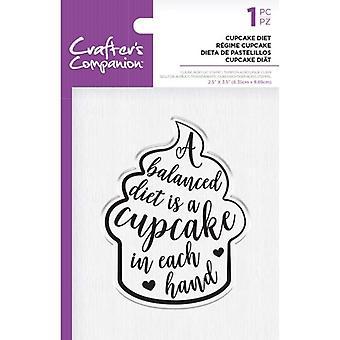 Crafter's Begleiter klare Briefmarken - Cupcake Diät