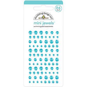 Doodlebug Design Uima-allas Mini Jalokivet (84kpl) (6720)