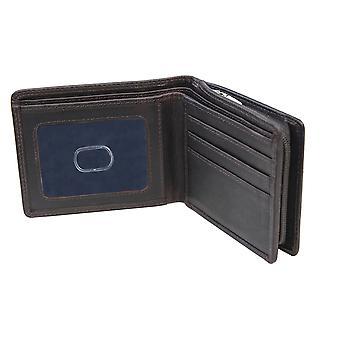 Premierhide Leather Wallet RFID Blocage Porte-cartes Hommes Gents Notecase 5801