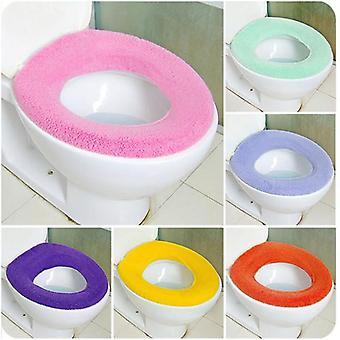 Zachte warmere wc-kussen kussen stoelhoes voor badkamer