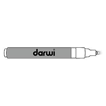 Darwi Acryl Opak Marker Thin Point 3 ml Silver